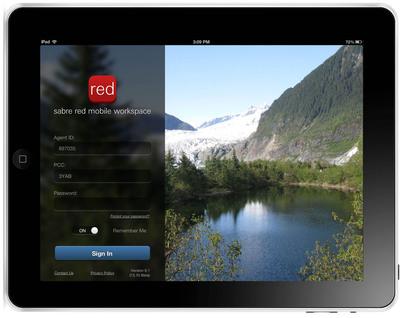 Sabre Red Mobile Workspace.  (PRNewsFoto/Sabre Travel Network)