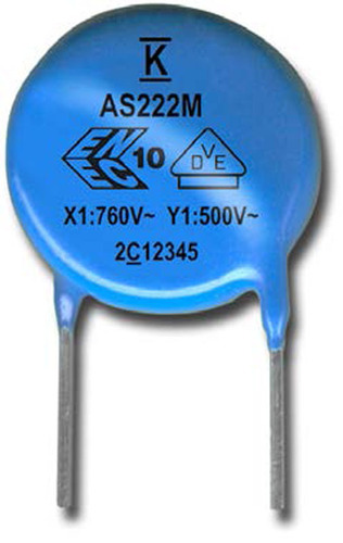 KEMET Launches New Line of Industrial Grade Safety Disc Capacitors