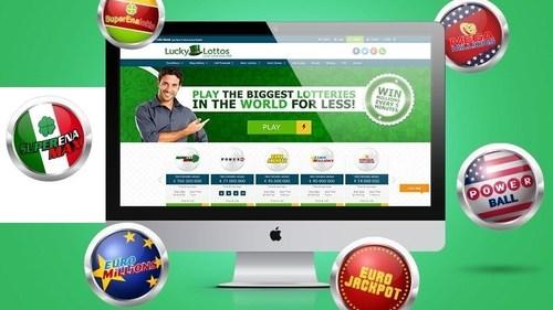 LuckyLottos.com - looking to make waves in the online lotto industry (PRNewsFoto/LuckyLottos.com) (PRNewsFoto/LuckyLottos.com)
