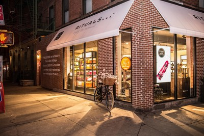 RITUALS Home & Body Cosmetics New York City SoHo Store at 231 Lafayette Street