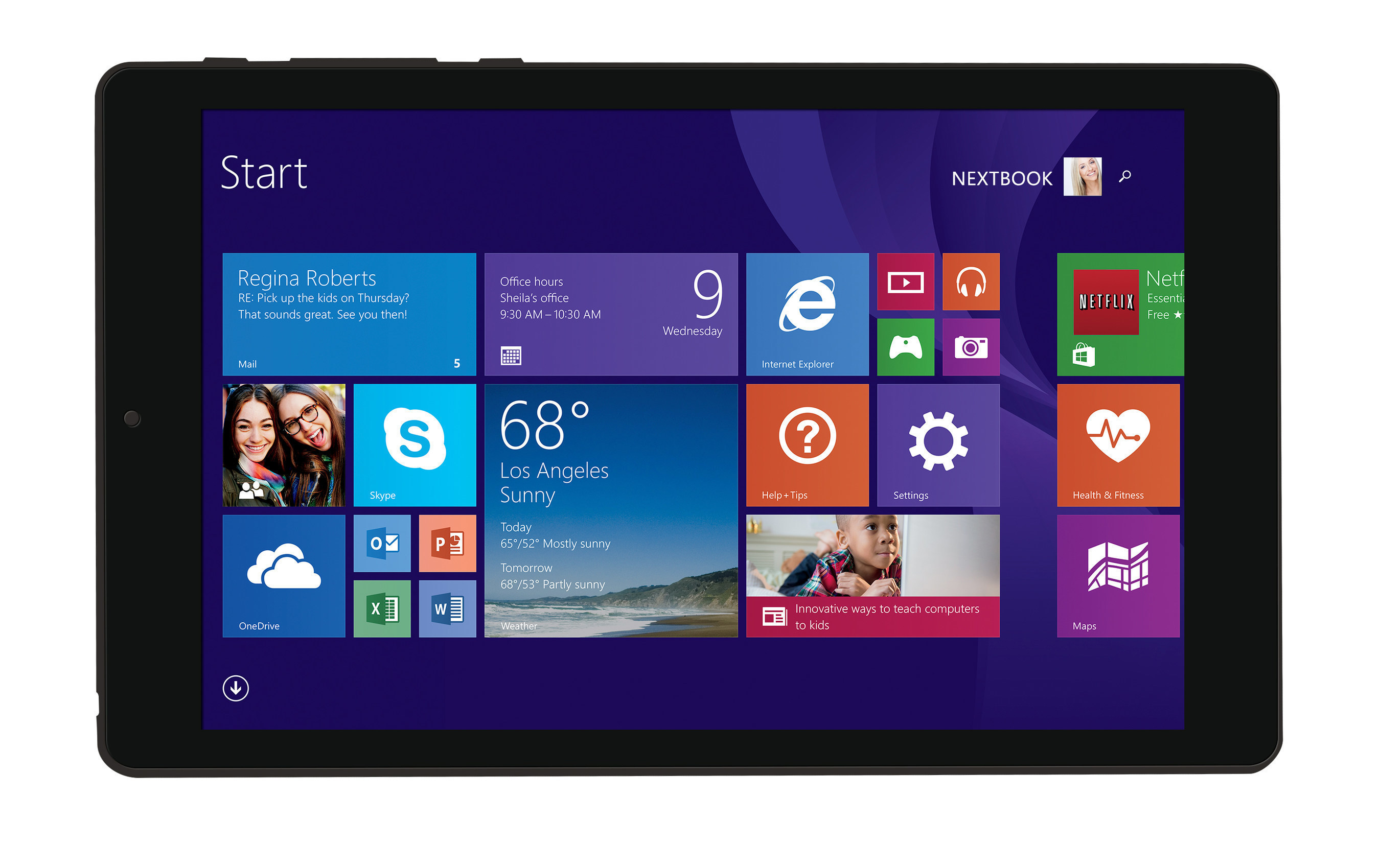 Nextbook Flexx 8 Windows Tablet Introduced at Walmart.com