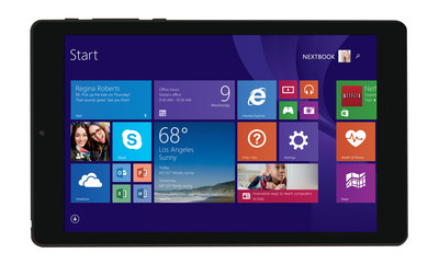 Nextbook Flexx 8 Windows tablet now available at Walmart.com for $99. Includes a one-year subscription to Microsoft Office 365 Personal.