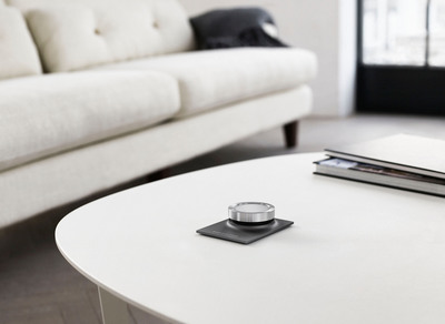 Bang & Olufsen introduces new luxuriously simple audio system-BeoSound Essence-at CES 2014.  (PRNewsFoto/Bang & Olufsen)