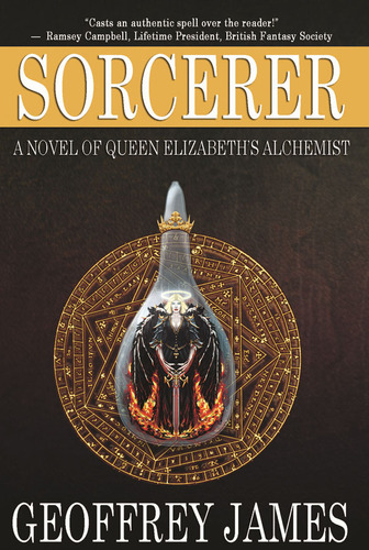 Sorcerer front cover image.  (PRNewsFoto/Geoffrey James)