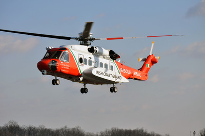 Sikorsky completes production of S-92(R) Helicopter for Irish Coast Guard.  (PRNewsFoto/Sikorsky Aircraft Corporation)