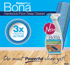 Bona® US Launches Bona PowerPlus™ Deep Clean, An Oxygenated Hardwood Floor Cleaning System