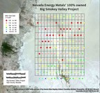 Nevada Energy Metals Announces Encouraging Lithium Results from Big Smokey Valley, Nevada