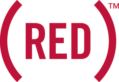 (RED) logo.  (PRNewsFoto/(RED))