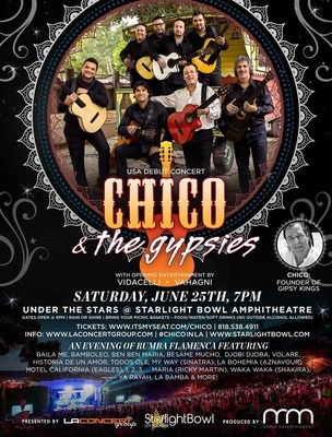 Chico & The Gypsies Live in Concert!