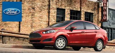 Experience automotive chemistry like never before with the 2015 Ford Fiesta in Cincinnati. (PRNewsFoto/Mike Castrucci of Alexandria)