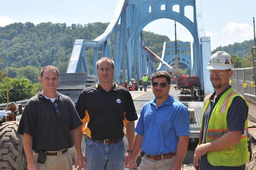 L.B. Foster Provides 54,000 SQ FT of Steel Grid Deck for Pennsylvania Bridge