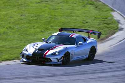New 2016 Dodge Viper ACR is undisputed track record king after setting more road course lap records than any production car.