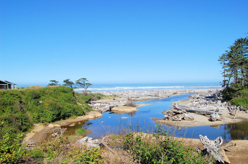Kalaloch Lodge on Washington's Pacific Coast is a classic seaside retreat that features full access to the ...