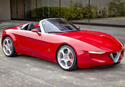 Mazda and Fiat have signed an agreement to produce an Alfa Romeo Roadster at Fiat's Japanese plant. The two vehicles will be significantly different and reflect the individual brands.  (PRNewsFoto/Bill Jacobs Mazda)