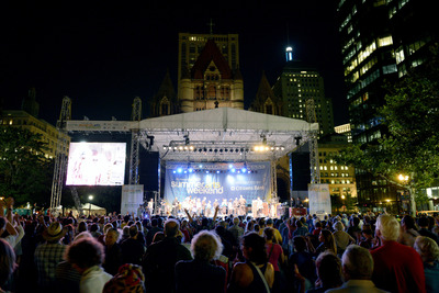2013 Boston Summer Arts Weekend in Copley Square. Photo Courtesy of Meredith Nierman  (PRNewsFoto/The Boston Globe)