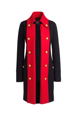 Lands' End makes fashion history with Special Edition Coat. Exclusive opportunity to pre-order history-inspired limited Special Edition Coat in honor of the Fourth of July at www.landsend.com/1776. (PRNewsFoto/Lands' End, Inc.)