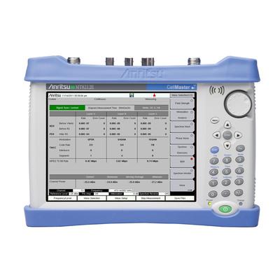 Anritsu MT8212E Cell Master has digital broadcast BER testing capability.  (PRNewsFoto/Anritsu Company)