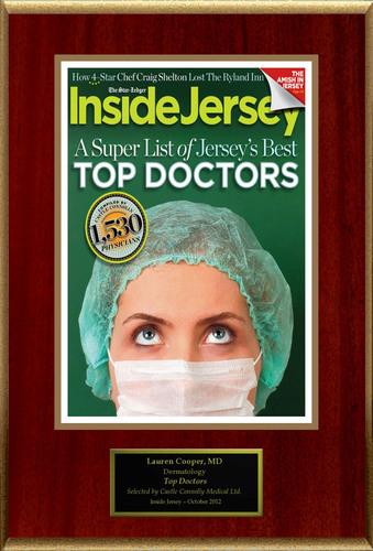 Dr. Lauren M Cooper selected for list of New Jersey Top Doctors.