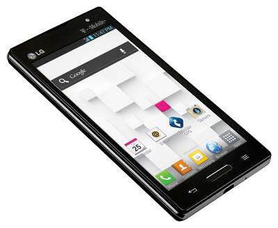 LG Optimus L9 from T-Mobile.  (PRNewsFoto/LG Electronics USA)