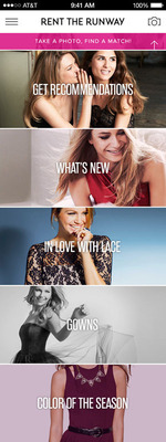 Rent the Runway Comes to iPhone and iPod touch with First Ever App