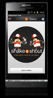 Orange's Shake & Shout Application