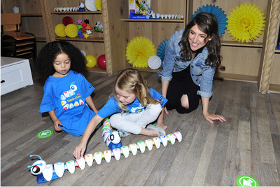 September 27, 2016 - STEM advocate, actress, and mom Mayim Bialik, hosts  the Fisher-Price Think-a-Thon event in Los Angeles, inviting preschoolers to learn through active play with the new Think & Learn line.