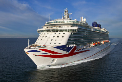 Carnival Corporation & plc, the world's largest travel and leisure company, celebrated the launch of P&O Cruises UK's newest ship, Britannia, in a naming ceremony held today in Southampton, England, to commemorate its entry into service for the P&O Cruises fleet. Britannia, the biggest ship designed exclusively for Britain, embodies the spirit of modern Britain through the ship's elegant design, cutting-edge art collection, best of British chefs, state-of-the-art cookery school and world-class spa.