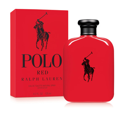 Ralph Lauren Fragrances Introduces POLO RED: A New Fragrance With A Fiery Edge And Daring Confidence.  (PRNewsFoto/Ralph Lauren Fragrances)