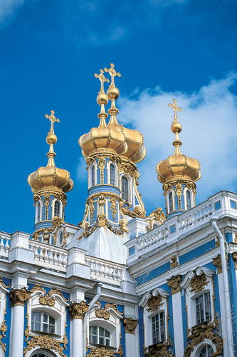 Catherine Palace is one of Crystal Cruises' main highlights during its three-day visits to St. Petersburg ...