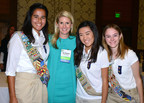 Princess Cruises President Jan Swartz joined by Emerging Leaders of the Girl Scouts of Greater Los Angeles