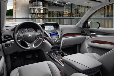 Best Selling Acura MDX Receives Powertrain Upgrades, AcuraWatch(TM) and Expanded Options for 2016, Enhancing Performance, Safety and Luxury