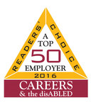 Aramark (NYSE:ARMK), a global leader in food, facilities management and uniforms, has once again been named a Top 50 employer for providing a positive working environment for people with disabilities by CAREERS & the disABLED magazine.