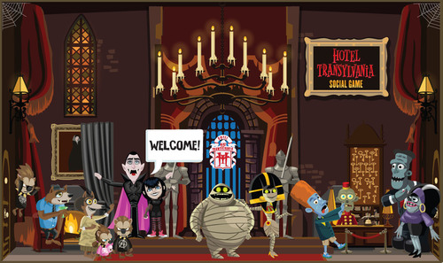Play The Hotel Transylvania Social Game at facebook.com/hoteltgame.  (PRNewsFoto/Sony Pictures Interactive)