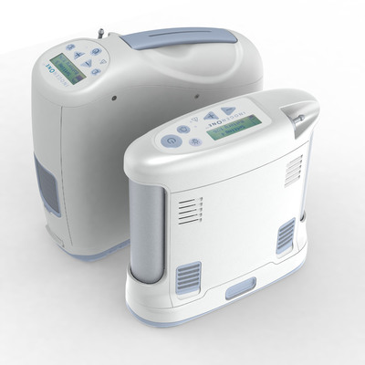 Inogen One G2 & G3 portable oxygen concentrators.  (PRNewsFoto/Inogen, Inc.)