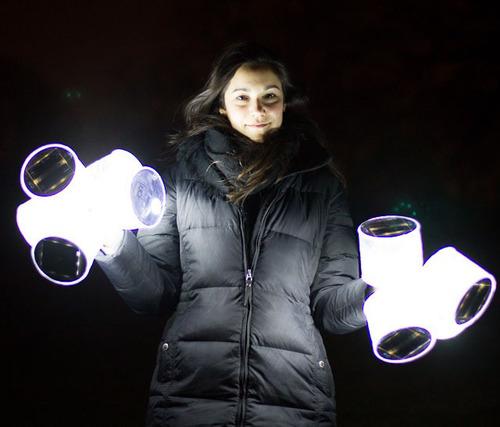 Solar Lantern Luci.  (PRNewsFoto/MPOWERD)
