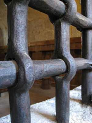 Prison Bars.  (PRNewsFoto/Badr Ethiopia)