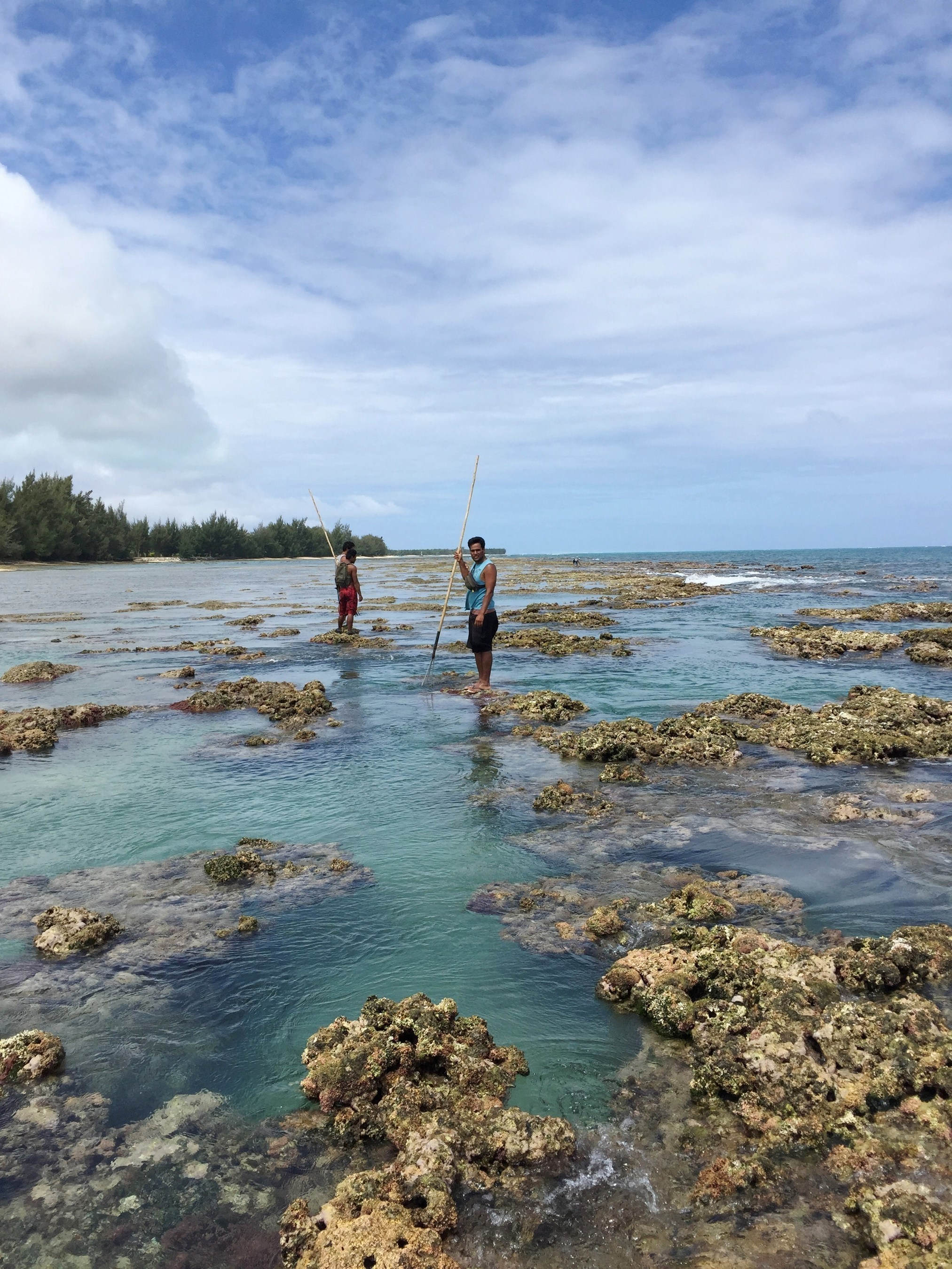 In the Austral Islands, more than 1,500 fishermen work in lagoons and coastal waters.