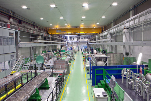 ASG clean area, with controlled humidity, temperature and dust levels, where the magnets for GSI will be built. Also built in this factory were the magnets for CERN which contributed to the discovery of the Higgs boson in 2012. (PRNewsFoto/ASG Superconductors) (PRNewsFoto/ASG Superconductors)