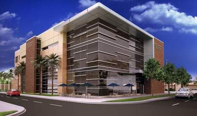St. Petersburg College Midtown campus will feature LumaStream low-voltage LED lighting systems.