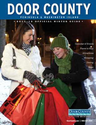 The Door County, Wisconsin 2012 winter guidebook provides visitors with a variety of winter travel information and trip ideas. View the online version here: https://bit.ly/A0RAYL. Photo credit: Door County Visitor Bureau.