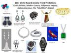 Emmy Awards Jewelry Trend Predictions From Leading Style Expert.  (PRNewsFoto/StyleLab)