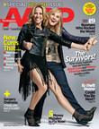 Sheryl Crow, Melissa Etheridge revisit breast cancer journeys in AARP Magazine. (PRNewsFoto/AARP)