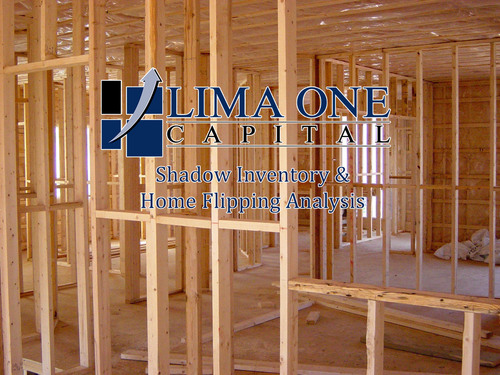 Hard Money Lender Lima One Capital releases shadow inventory and home flipping market analysis.  (PRNewsFoto/Lima One Capital)