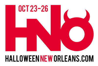 """Official logo of Halloween New Orleans 2014. This year's theme is """"Descent: Journey into the Inferno."""" (PRNewsFoto/Halloween New Orleans)"""