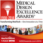 #MDEA14 Winners announced Wednesday, June 11 at 4pm at the Javits Center, New York City. All MedTech professionals welcome! (PRNewsFoto/UBM Canon)