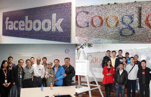 Delegations from PinYou Interactive are visiting Facebook and Google. They were on a trip to the RTB companies ...