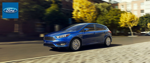 The Ford Focus is one of five Ford models that have been completely redesigned for the 2015 model year. (PRNewsFoto/Matt Ford)