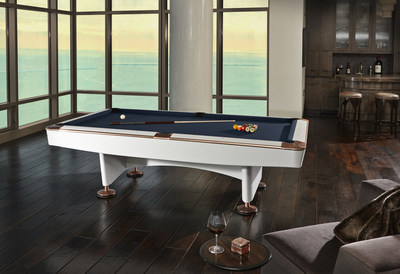 White Gold Crown IV Limited Edition Billiards Table