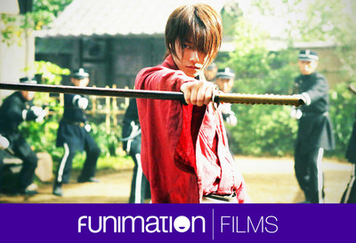 "Still from ""Rurouni Kenshin"" film trilogy. Courtesy of Funimation Films."