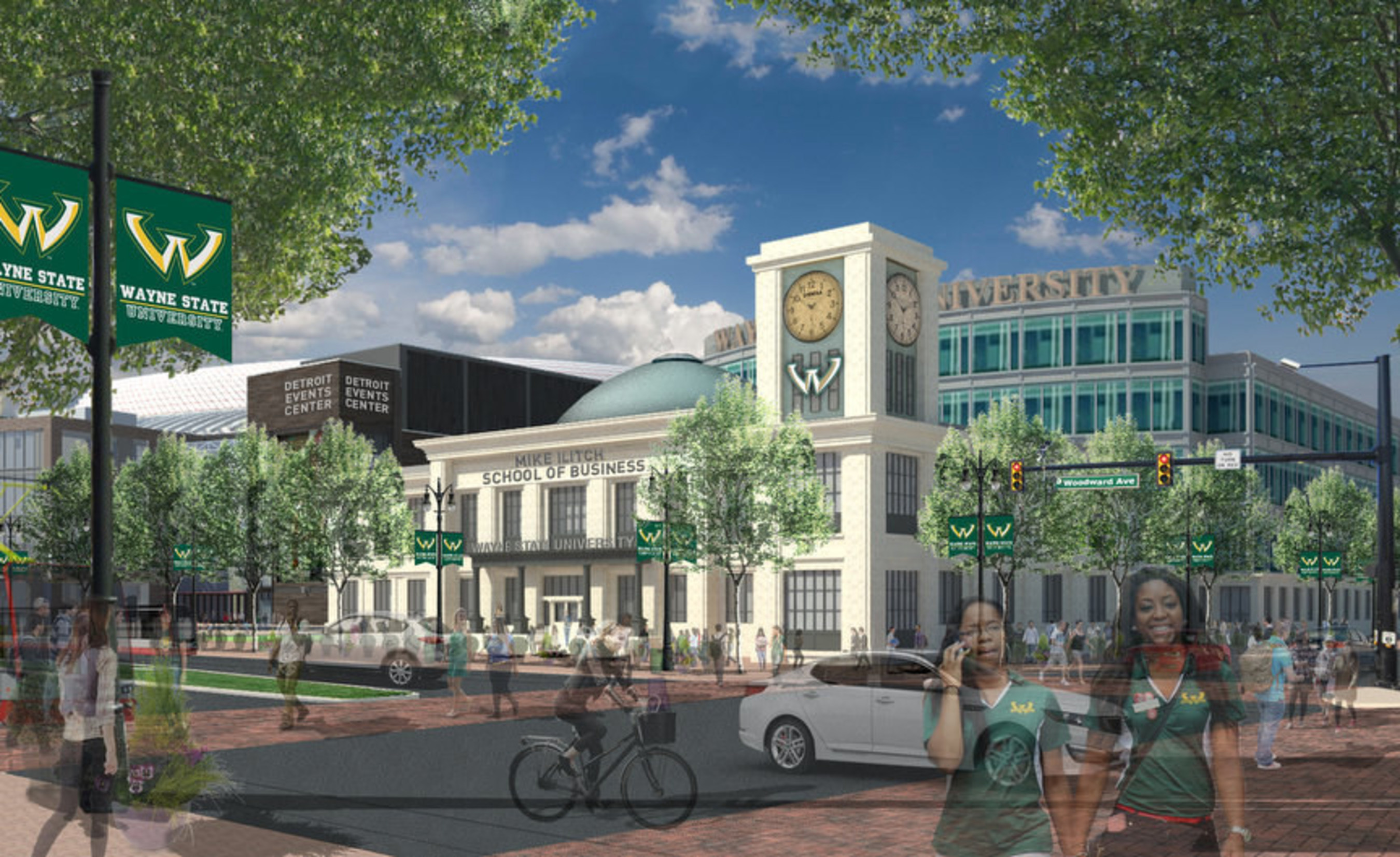 UMD Applauds Ilitch Family's Transformational $40 Million Leadership Gift to Wayne State University
